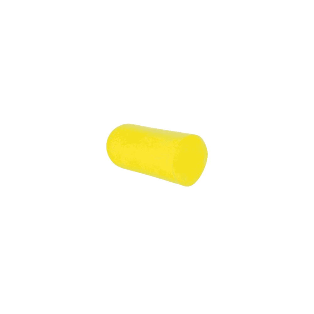 E-A-Rsoft Yellow Neons SNR 36 dB foam disposable ear plug without cord  dispenser refill