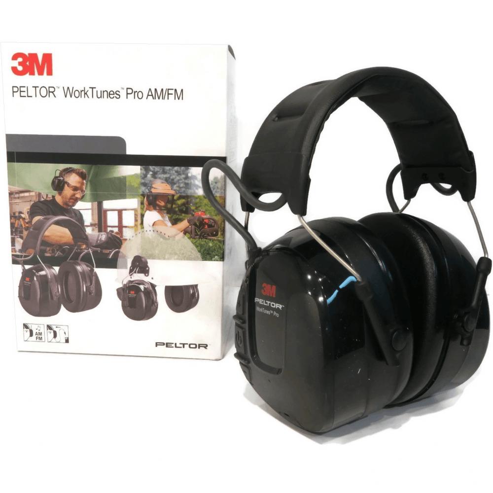 3M PELTOR WORKTUNES PRO AM//FM RADIO HEADSET 32 DB BLACK HEADBAND HRXS221A